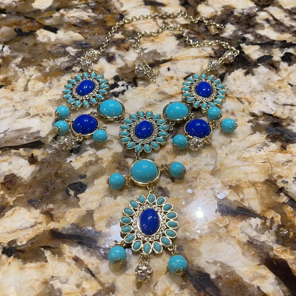 Lilly Pulitzer Blue Tier Necklace